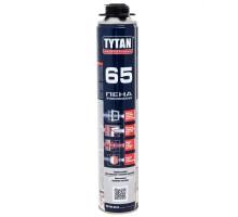 Пена монтажная Tytan 65 O2 профессиональная, 750 мл