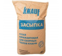 Сухая засыпка Knauf (фр. 0-5 мм) 40 л
